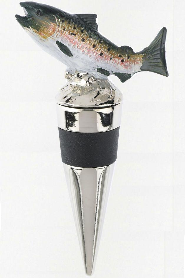 Пробка для вина в виде лосося или оленя (ручная работа)