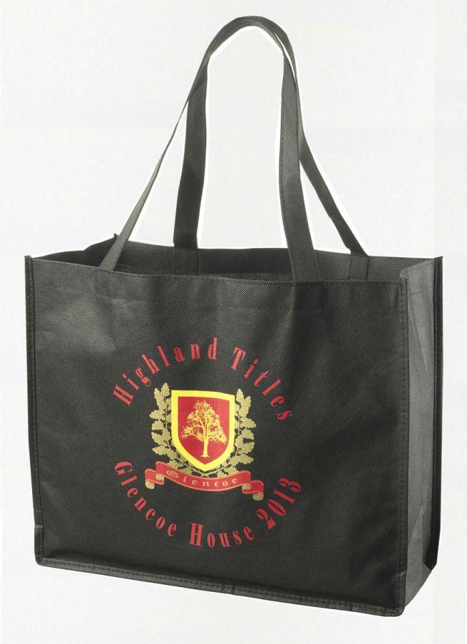 Сувенирная сумка с логотипом Glencoe (100% хлопок)