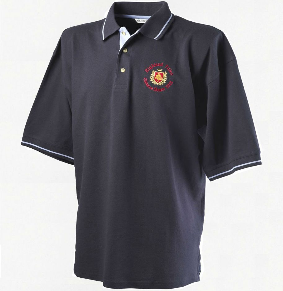 Эксклюзивная футболка поло для землевладельцев Glencoe (100% хлопок)